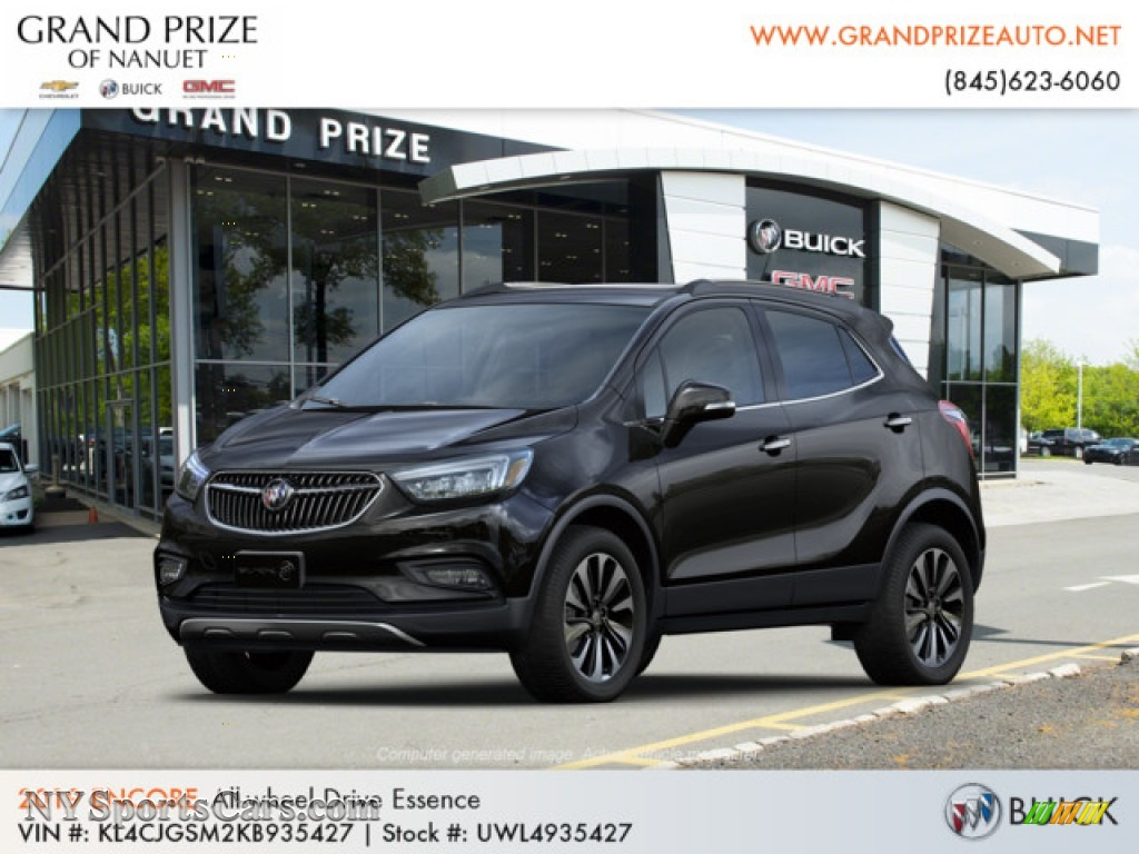 Ebony Twilight Metallic / Ebony Buick Encore Essence AWD