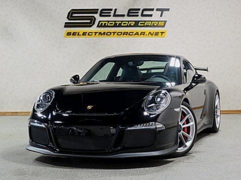 Black 2015 Porsche 911 GT3