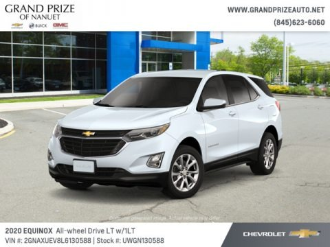 Summit White 2020 Chevrolet Equinox LT AWD