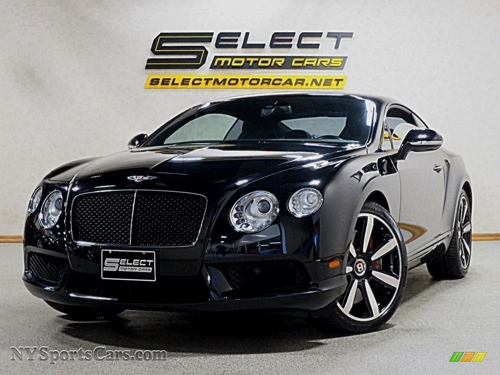 Black / Beluga Bentley Continental GT V8 Le Mans Edition