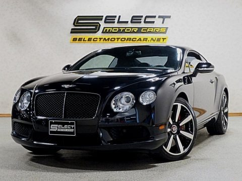 Black 2013 Bentley Continental GT V8 Le Mans Edition