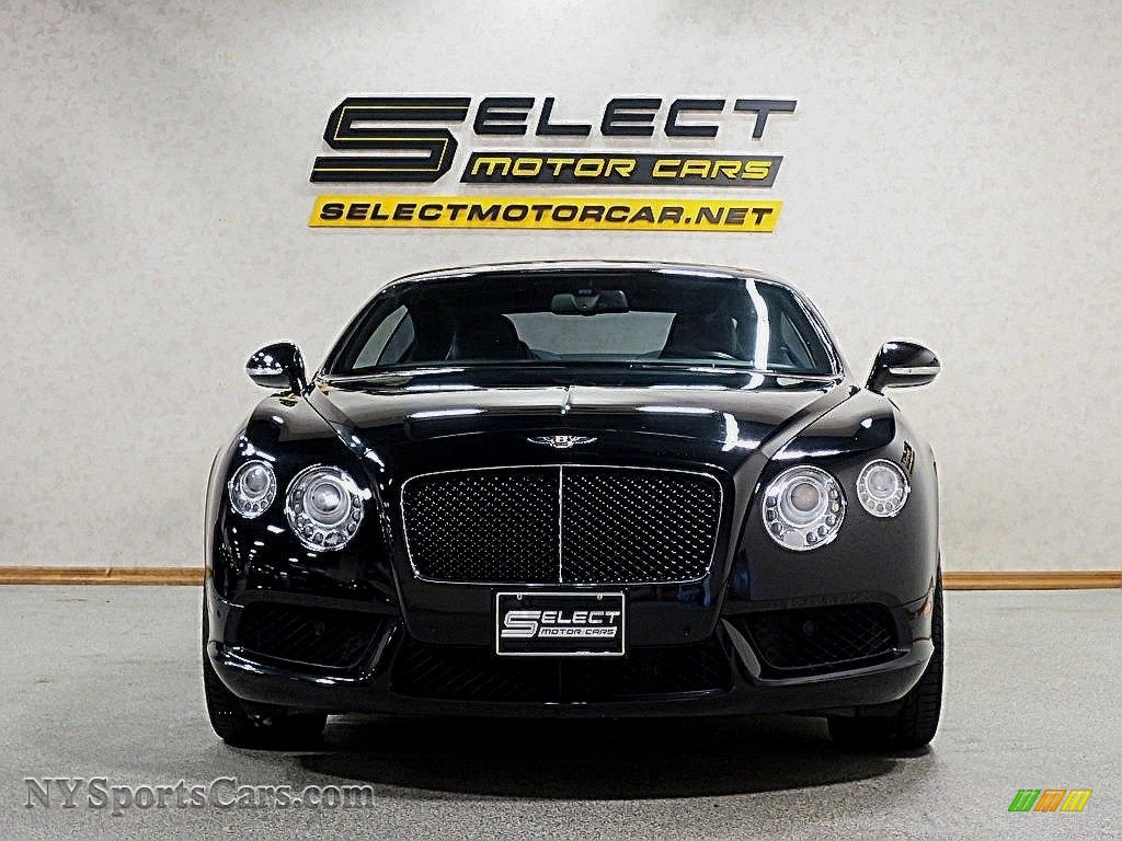 2013 Continental GT V8 Le Mans Edition - Black / Beluga photo #2