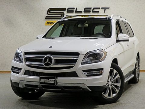 Polar White 2015 Mercedes-Benz GL 450 4Matic