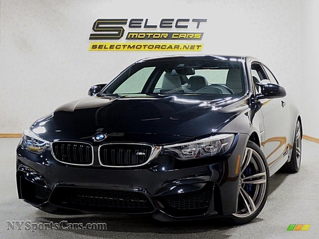 Black Sapphire Metallic / Silverstone BMW M4 Coupe