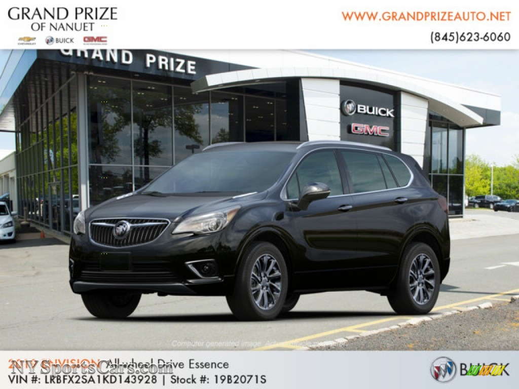 2019 Envision Essence AWD - Ebony Twilight Metallic / Ebony photo #1