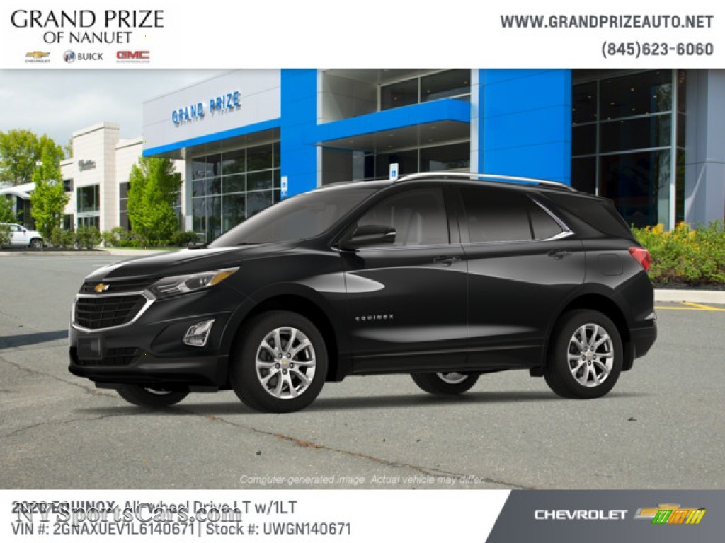 2020 Equinox LT AWD - Mosaic Black Metallic / Jet Black photo #2