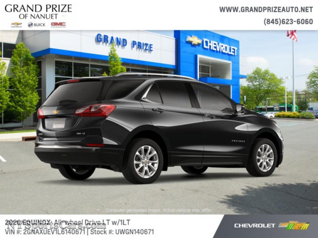 2020 Equinox LT AWD - Mosaic Black Metallic / Jet Black photo #4