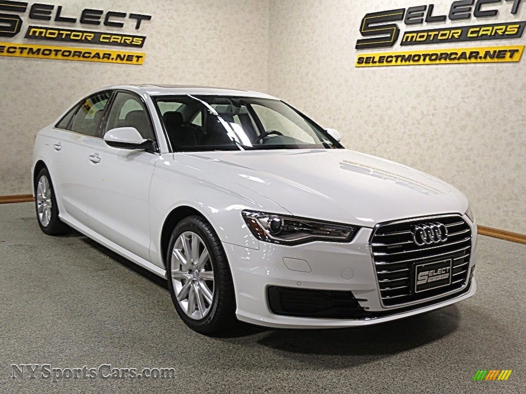 2016 A6 2.0 TFSI Premium Plus quattro - Ibis White / Black photo #3