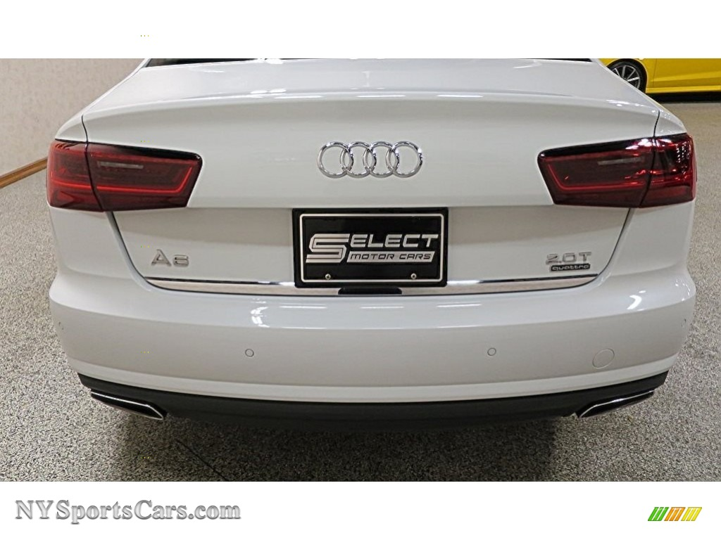 2016 A6 2.0 TFSI Premium Plus quattro - Ibis White / Black photo #5
