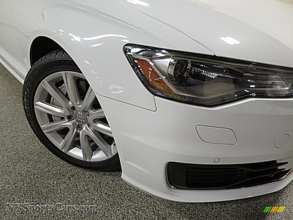 2016 A6 2.0 TFSI Premium Plus quattro - Ibis White / Black photo #8