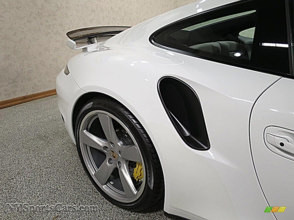 2015 911 Turbo S Coupe - White / Platinum Grey photo #12