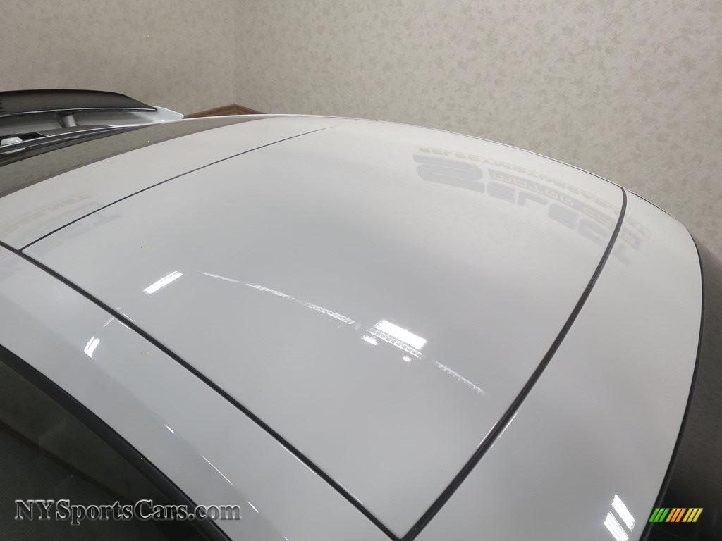 2015 911 Turbo S Coupe - White / Platinum Grey photo #13