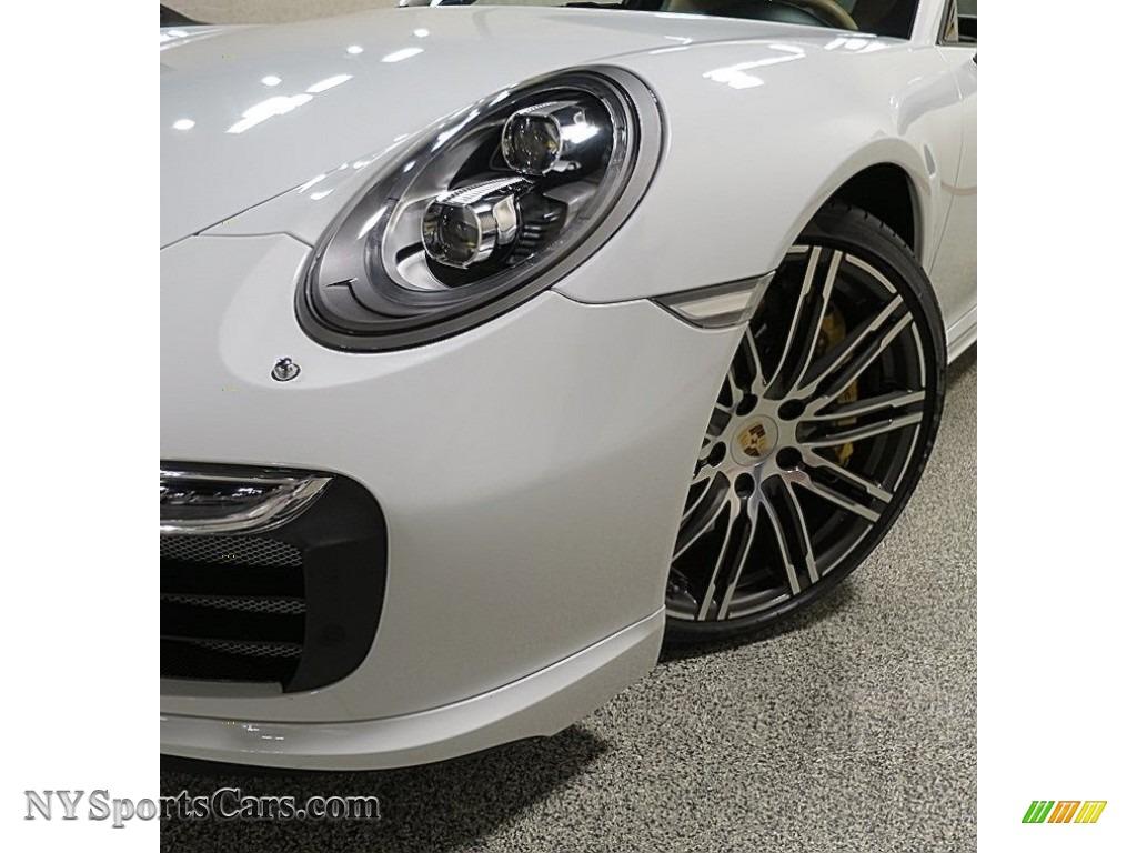 2015 911 Turbo S Coupe - White / Black/Luxor Beige photo #9