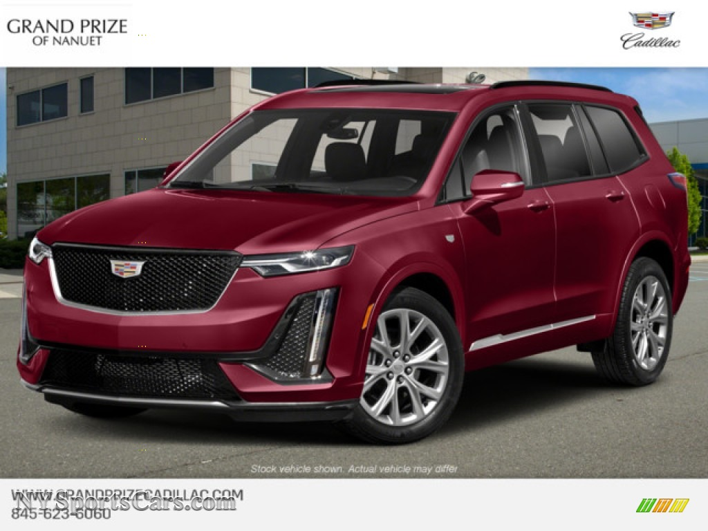 2020 XT6 Premium Luxury AWD - Garnet Metallic / Jet Black photo #1