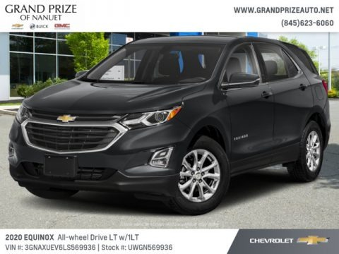 Nightfall Gray Metallic 2020 Chevrolet Equinox LT AWD
