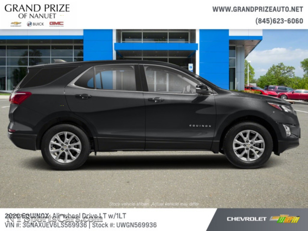2020 Equinox LT AWD - Nightfall Gray Metallic / Jet Black photo #5
