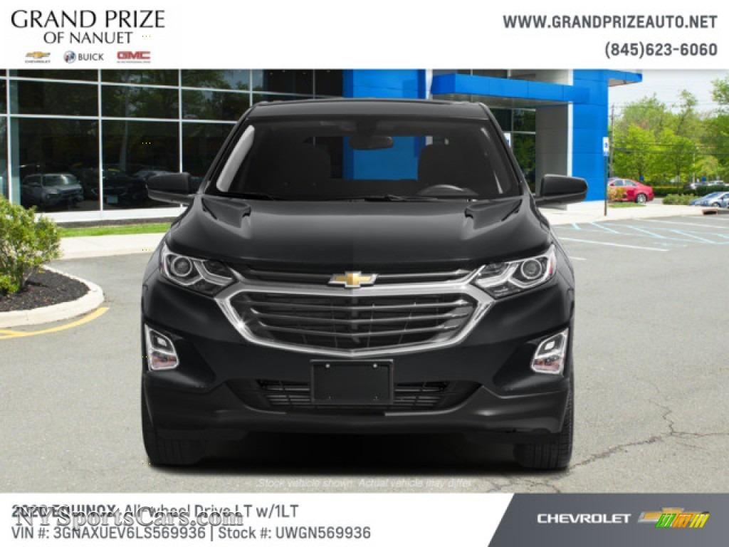 2020 Equinox LT AWD - Nightfall Gray Metallic / Jet Black photo #7