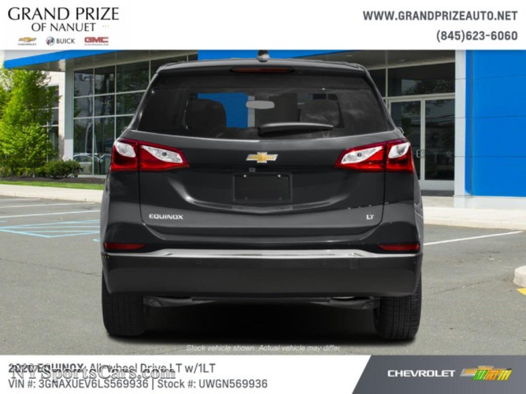 2020 Equinox LT AWD - Nightfall Gray Metallic / Jet Black photo #8