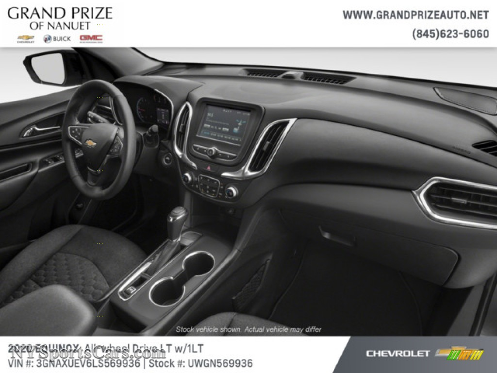 2020 Equinox LT AWD - Nightfall Gray Metallic / Jet Black photo #14