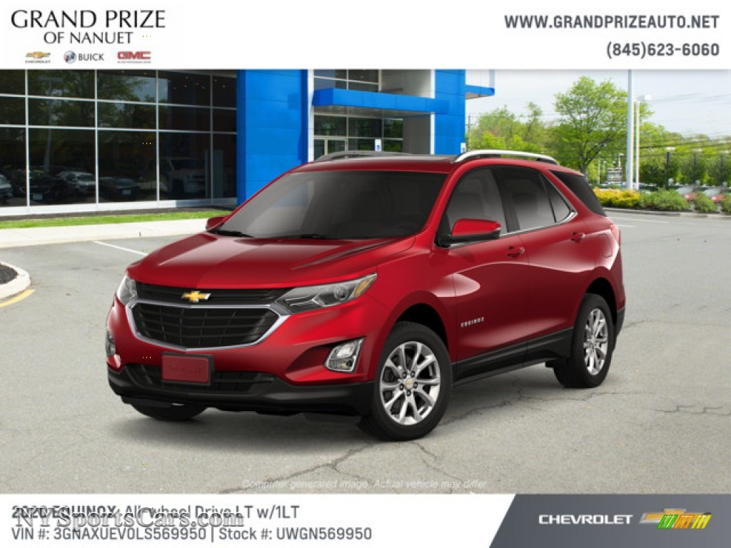 2020 Equinox LT AWD - Cajun Red Tintcoat / Jet Black photo #1