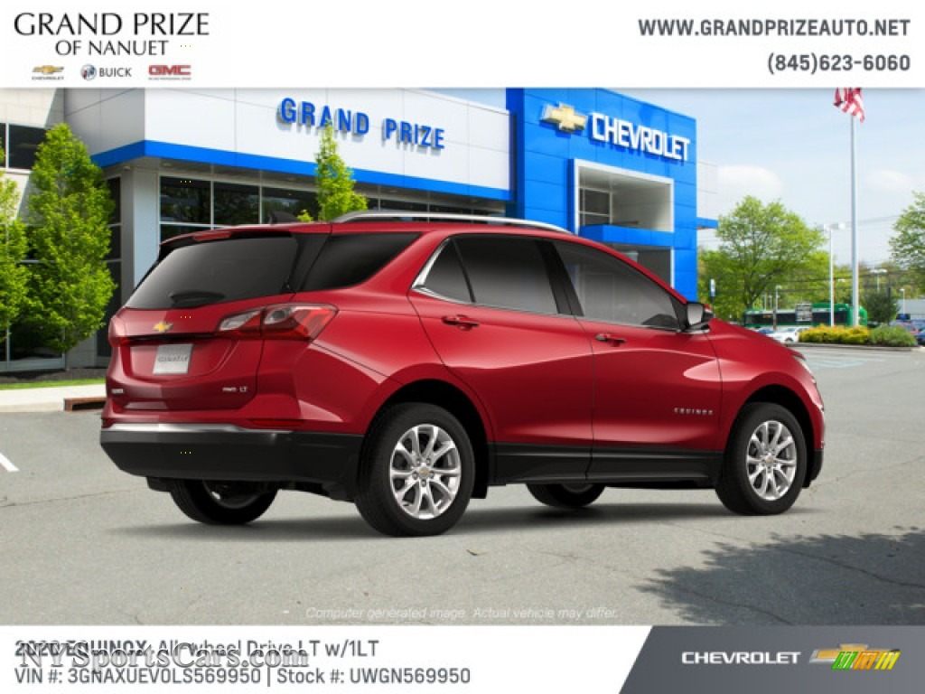 2020 Equinox LT AWD - Cajun Red Tintcoat / Jet Black photo #4