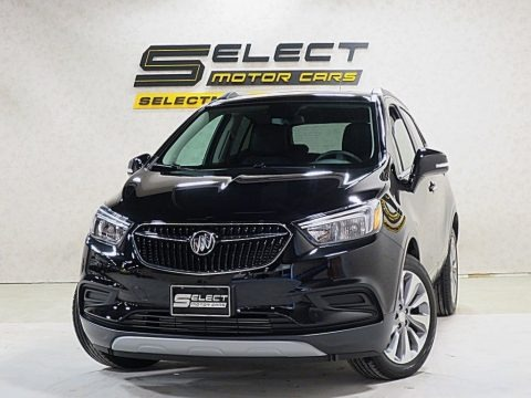 Ebony Twilight Metallic 2019 Buick Encore Preferred
