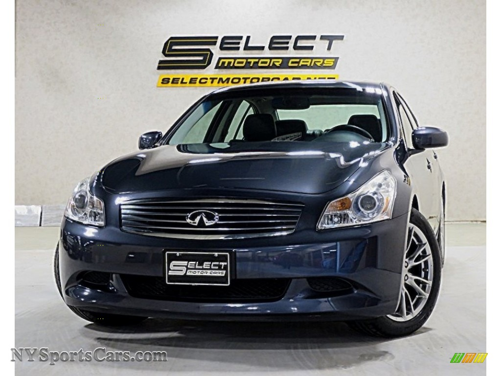 Black Obsidian / Graphite Black Infiniti G 35 S Sport Sedan