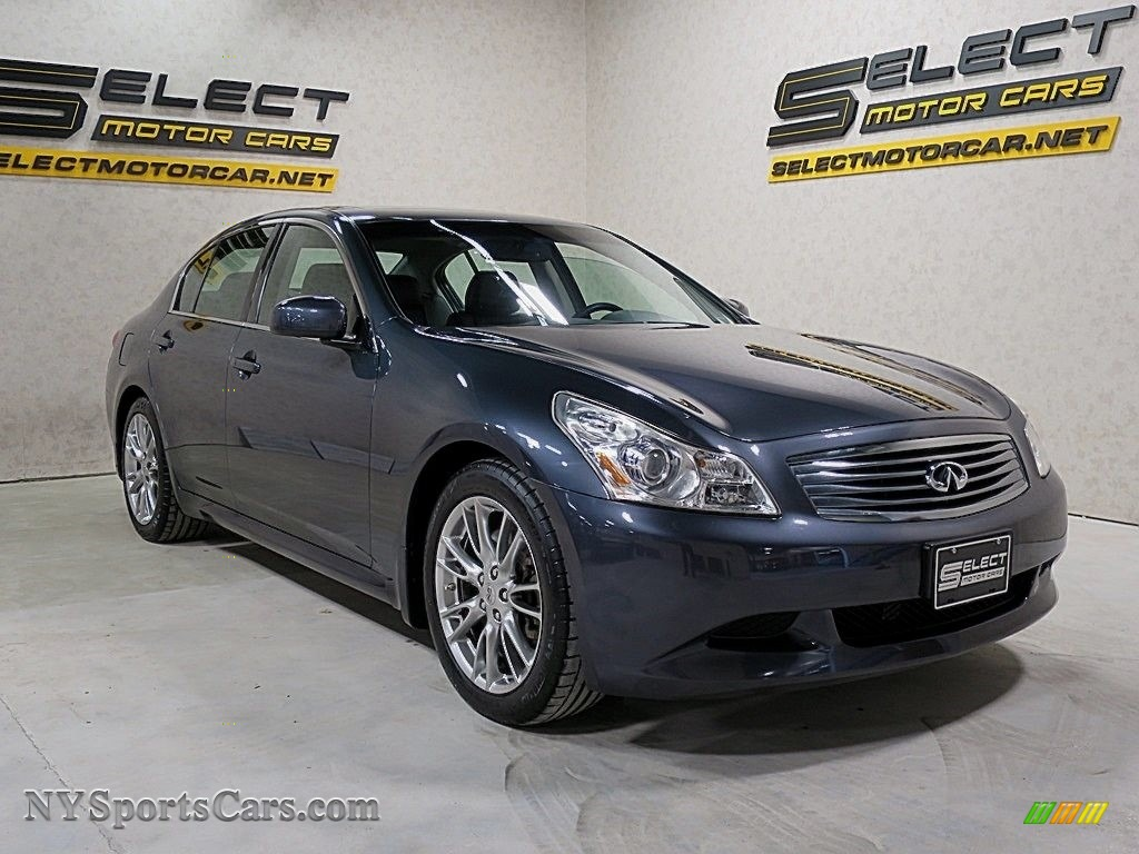 2007 G 35 S Sport Sedan - Black Obsidian / Graphite Black photo #3