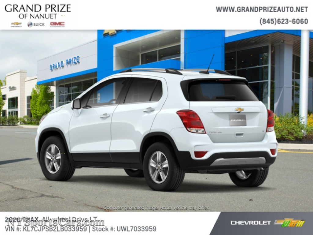 2020 Trax LT AWD - Summit White / Jet Black photo #3