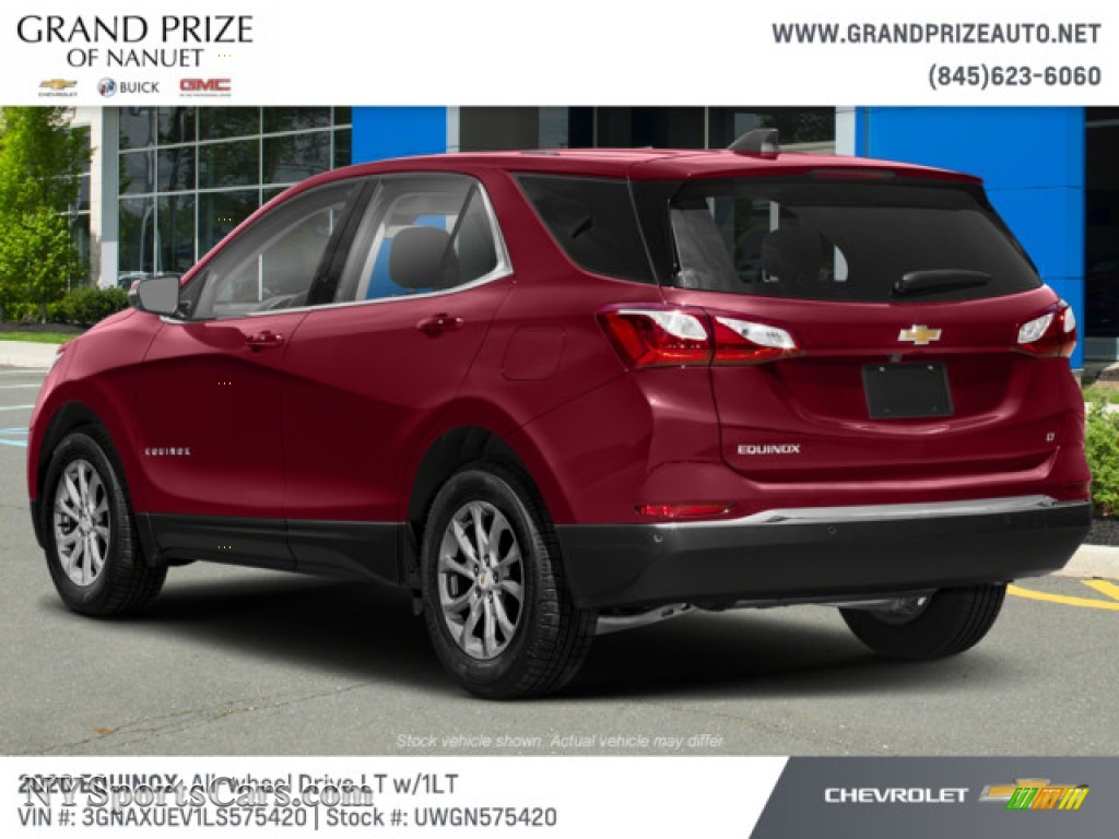 2020 Equinox LT AWD - Cajun Red Tintcoat / Jet Black photo #6
