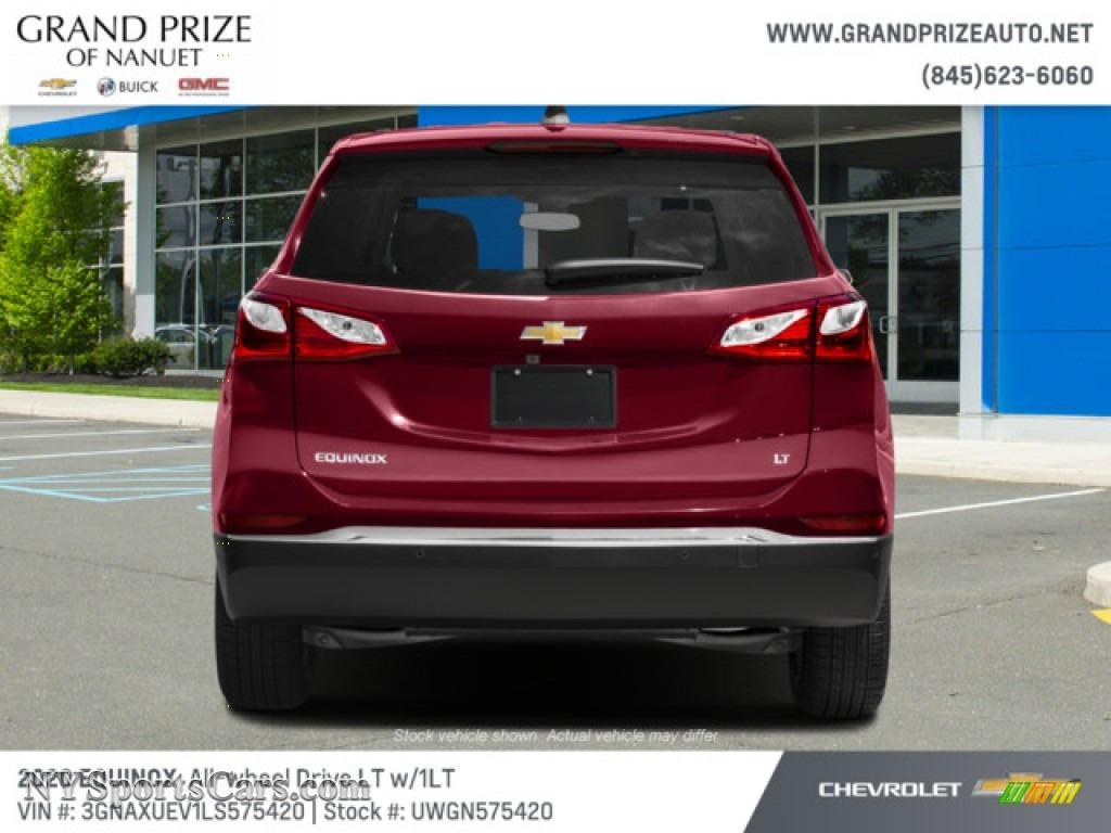 2020 Equinox LT AWD - Cajun Red Tintcoat / Jet Black photo #8