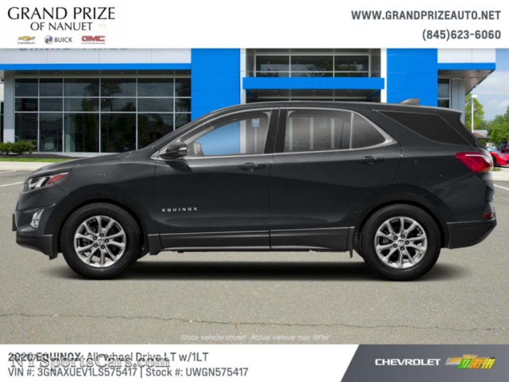2020 Equinox LT AWD - Summit White / Jet Black photo #2