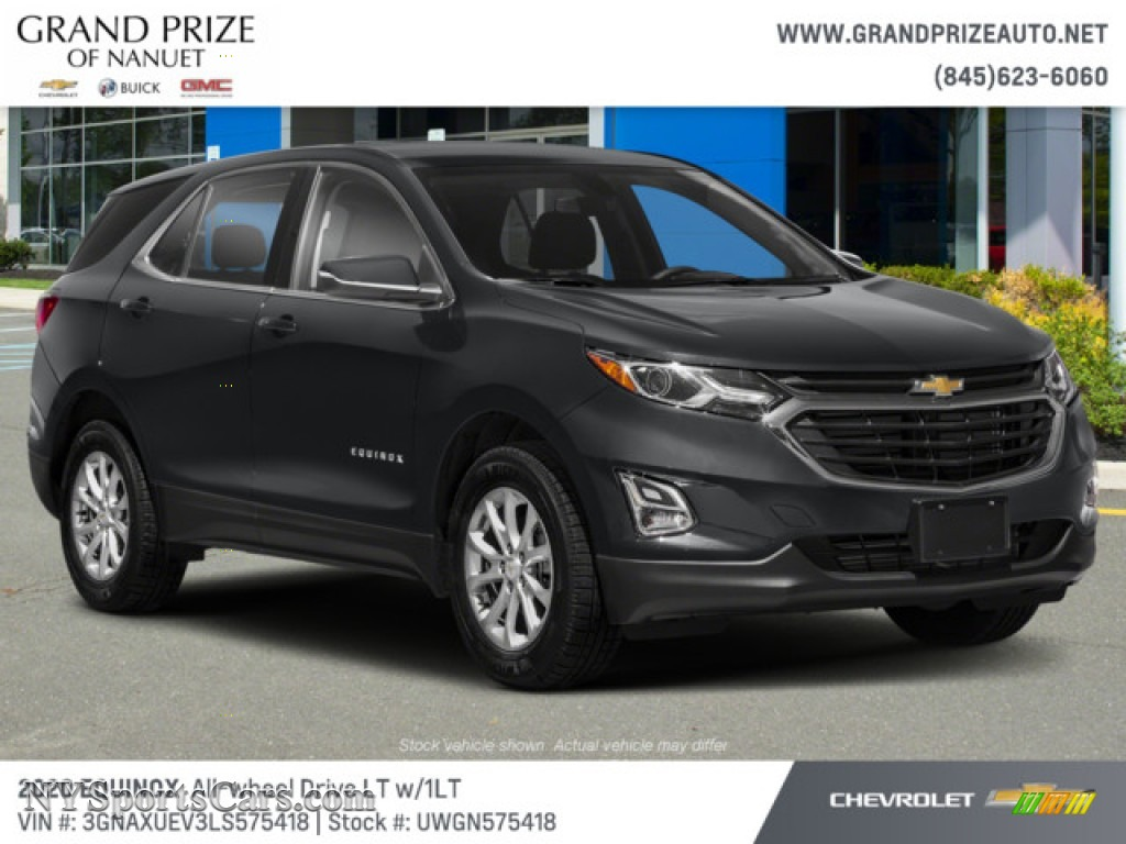 2020 Equinox LT AWD - Summit White / Jet Black photo #4