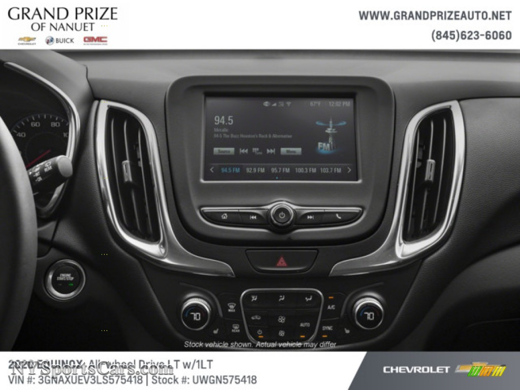 2020 Equinox LT AWD - Summit White / Jet Black photo #12
