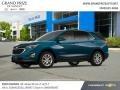 Chevrolet Equinox LT AWD Pacific Blue Metallic photo #2