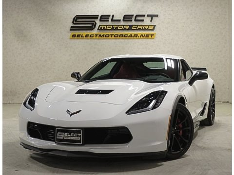 Arctic White 2017 Chevrolet Corvette Grand Sport Coupe