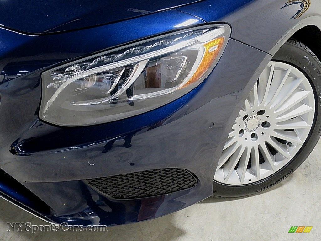 2017 S 550 Cabriolet - Lunar Blue Metallic / Crystal Grey/Black photo #10