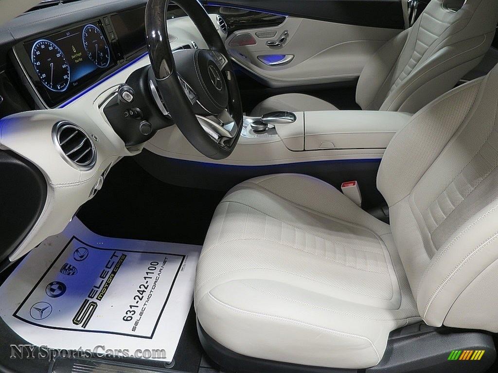 2017 S 550 Cabriolet - Lunar Blue Metallic / Crystal Grey/Black photo #19