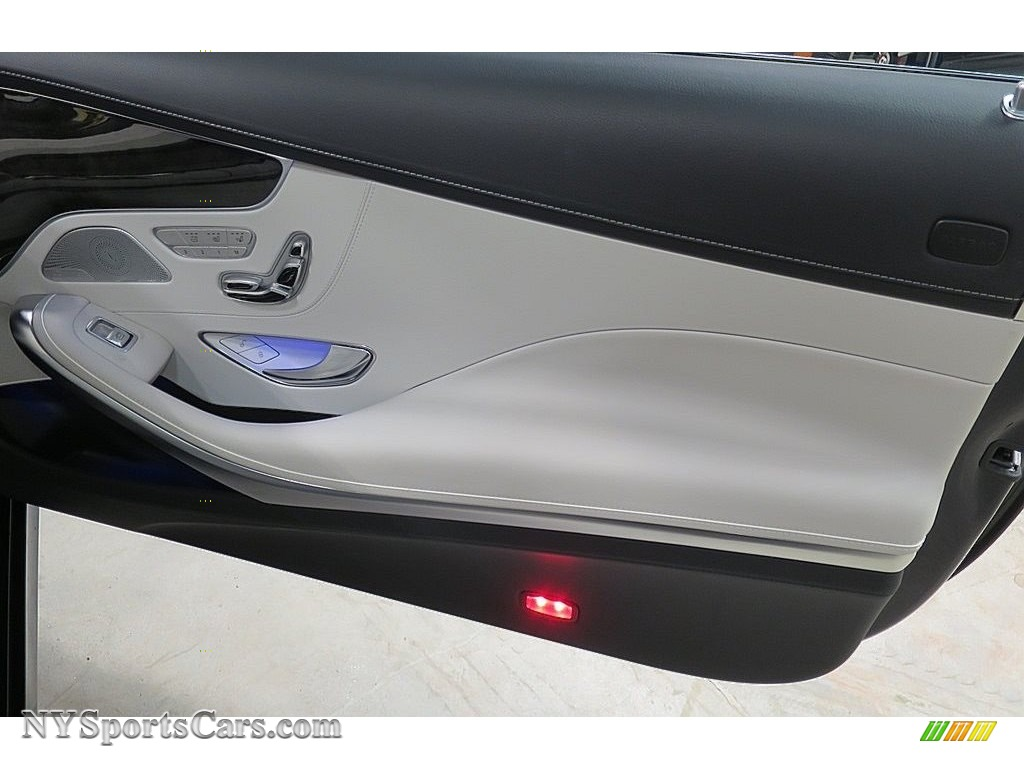 2017 S 550 Cabriolet - Lunar Blue Metallic / Crystal Grey/Black photo #24