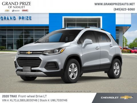 Silver Ice Metallic 2020 Chevrolet Trax LT