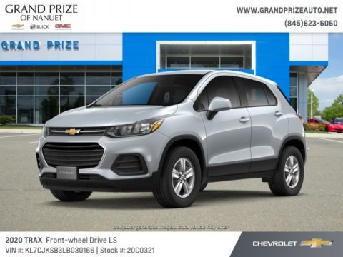 Silver Ice Metallic 2020 Chevrolet Trax LS