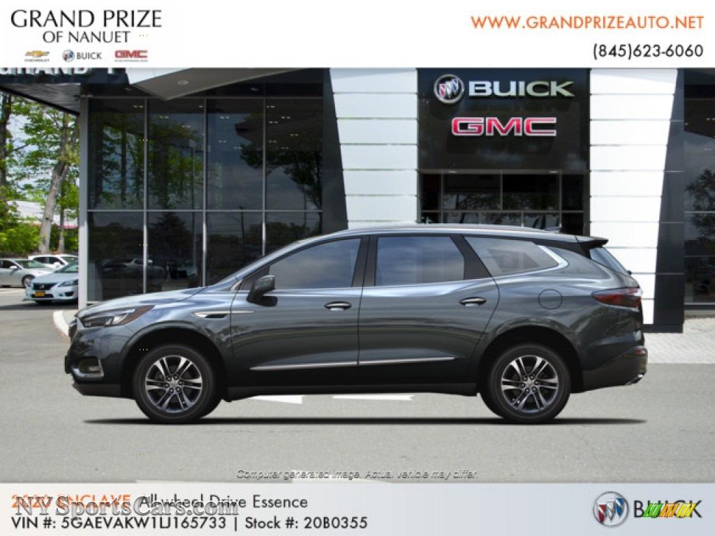 2020 Enclave Essence AWD - Dark Slate Metallic / Dark Galvinized/Ebony photo #2