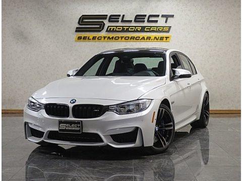 Mineral White Metallic 2017 BMW M3 Sedan