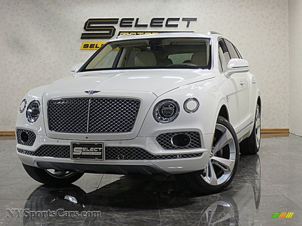 Glacier White / Linen Bentley Bentayga W12