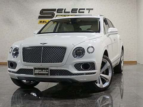 Glacier White 2017 Bentley Bentayga W12