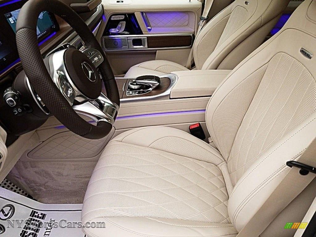 2020 G 63 AMG - designo Diamond White Metallic / designo Macchiato Beige/Espresso Brown photo #6