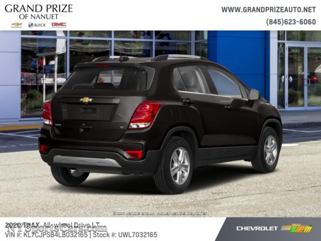 2020 Trax LT AWD - Mosaic Black Metallic / Jet Black photo #3