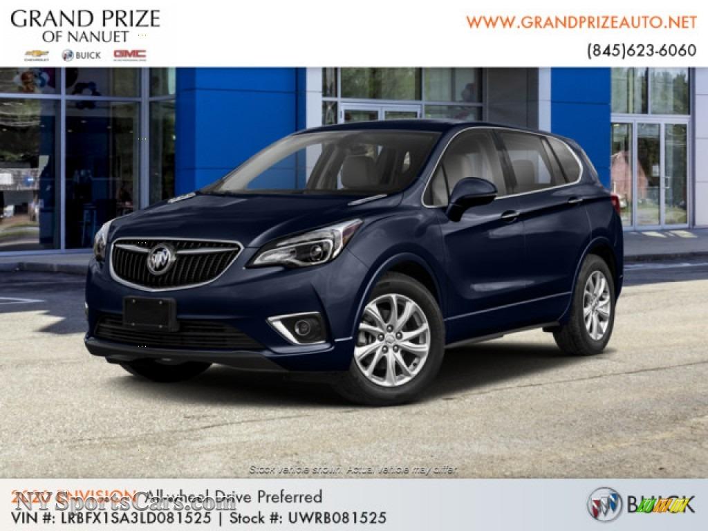 2020 Envision Preferred AWD - Dark Moon Blue Metallic / Light Neutral photo #1