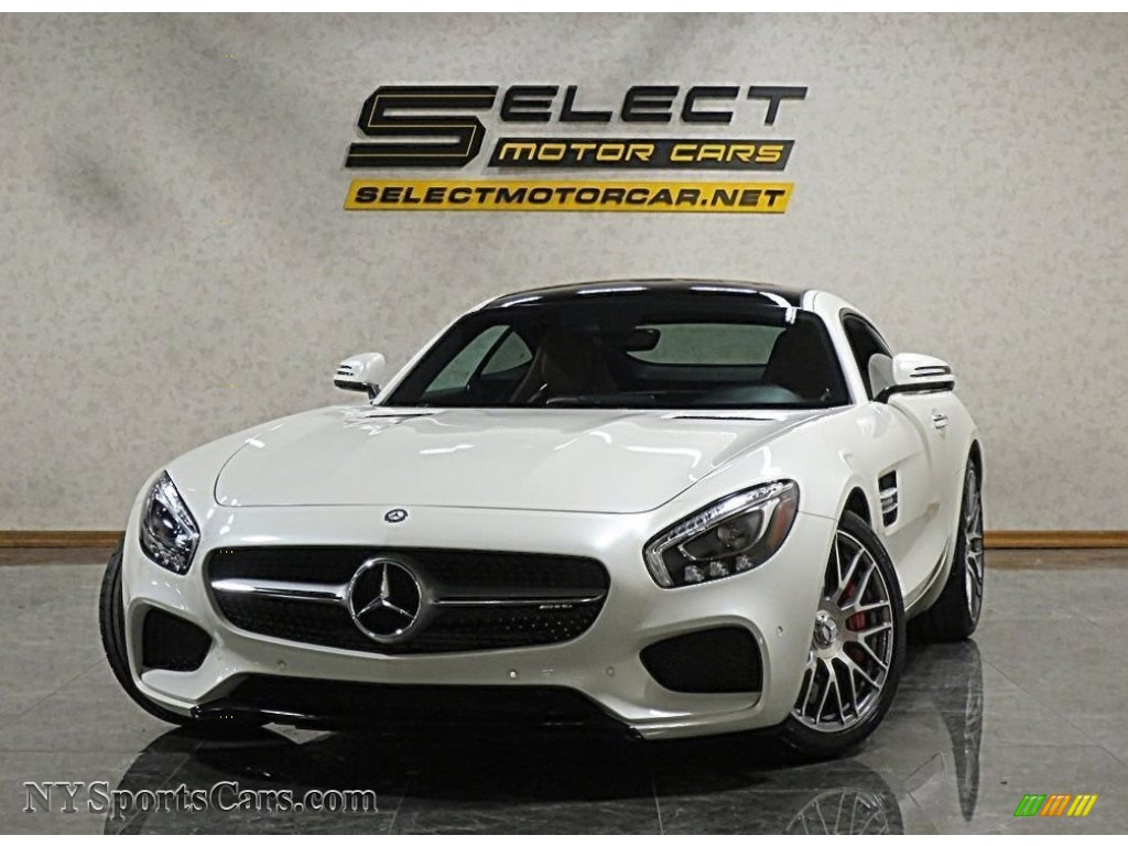 2016 AMG GT S Coupe - designo Diamond White Metallic / Saddle Brown Exclusive photo #1
