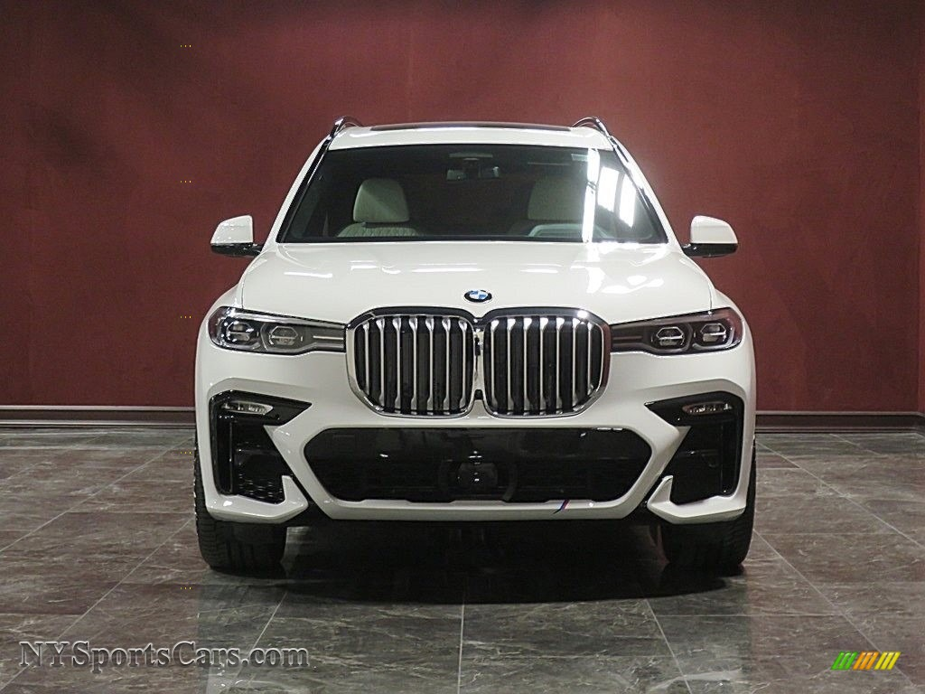 2019 X7 xDrive50i - Alpine White / Ivory White photo #2